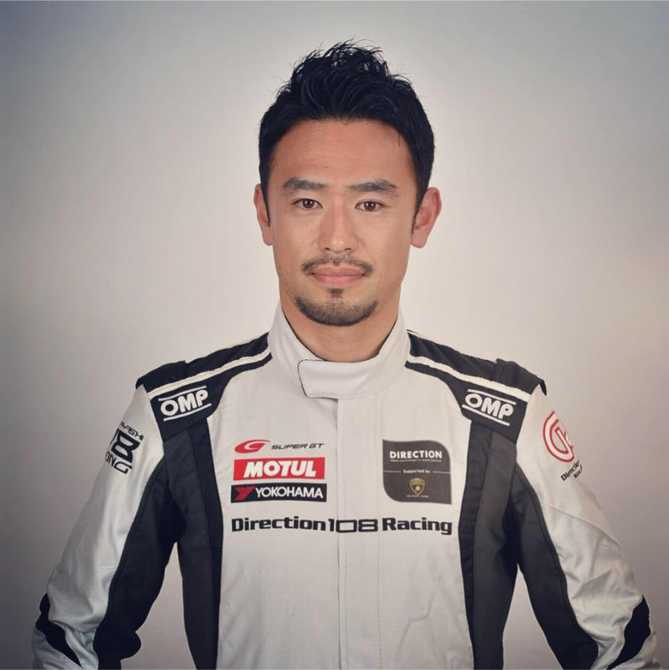 レーシングドライバー横溝直輝選手