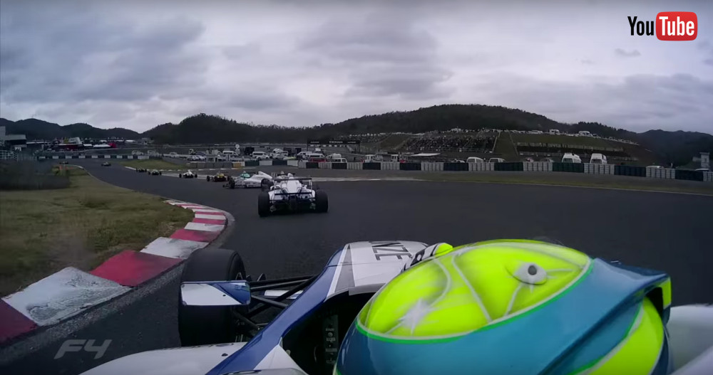 出典:YouTube FIA-F4 JAPANESE