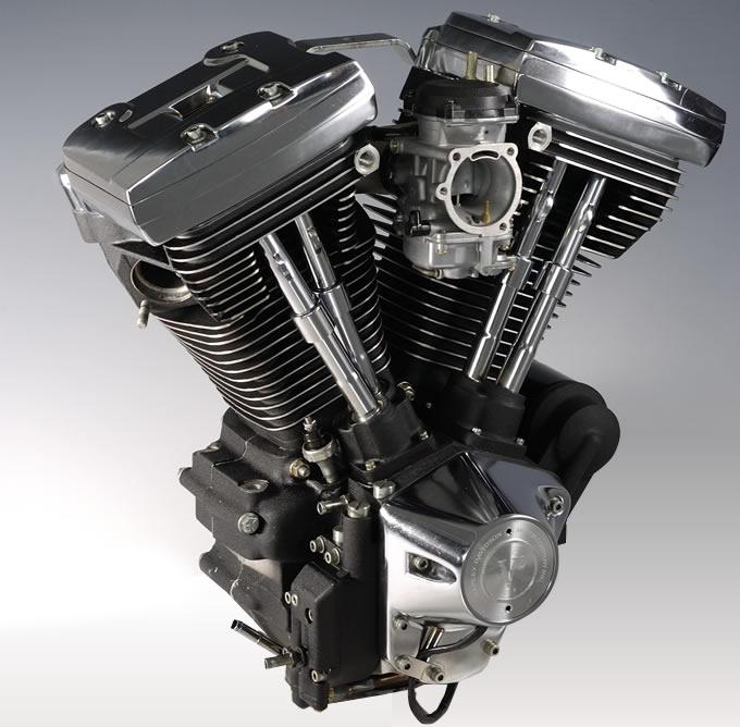 V型2気筒OHVエンジン(出典:http://www.virginharley.com/)