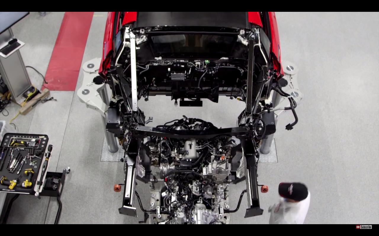 NSXエンジン搭載