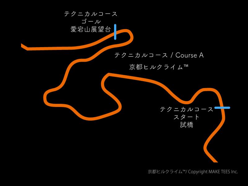 決勝区間コースA(出典:http://special-stage.racing/)