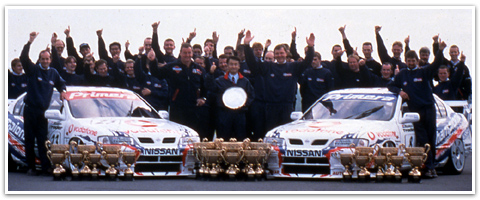 1999年チャンピオンに輝いたプリメーラ(出典:http://www.nismo.co.jp/M_SPORTS/entertainment/DIRECTORY/vol_9.html)