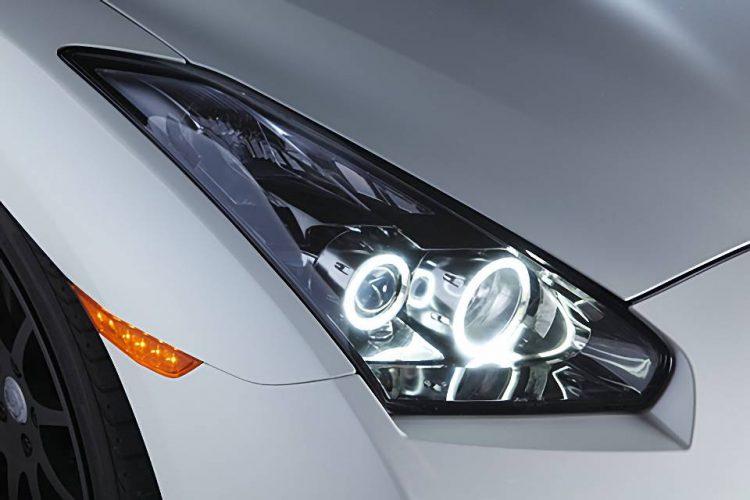 日産GT-Rヘッドライト
