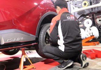 女性でも簡単にできます!タイヤ交換を簡単にするアイテムと正しい作業手順をご紹介