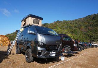 冬でも暖かいテント!?日産キャラバンの車中泊仕様が本当に快適か検証してみた。【OFF-ROAD IMPACT JAPAN 2019 / Trail Hero】
