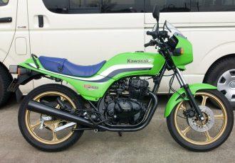 中型免許で乗れるベルトドライブ!!カワサキGPz250はヒトと違うバイクに乗りたいライダーにオススメです!