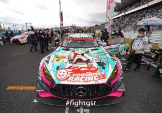 AMG GT3本来のポテンシャルを披露!12月26日GOODSMILE RACING富士タイムアックイベント実施