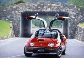 軽自動車なのにスーパーカー!?マツダとスズキの奇跡の合作『オートザム AZ-1』とは?
