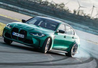 BMW 新型M3セダン/M4クーペ上陸!!縦型グリルと6MTモデルでインパクト抜群!