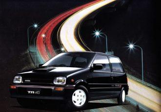 軽自動車唯一の4WS車!!ダイハツミラTR4/TR-XXアバンツァート4WSの小回りが良すぎる!