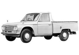 ダットラに挑んだ熱い情熱は、初代ハイラックスへつながった!隠れた名車『日野 / トヨタ・ブリスカ』