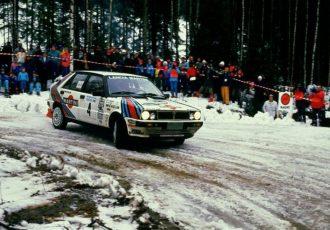 WRC史上初の6連覇を達成!ランチア・デルタHF