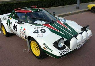 WRC制覇のためのマシン、ランチア・ストラトスの伝説!