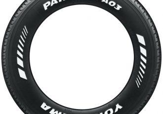 タイヤに白文字を書く、ホワイトレタータイヤの起源と作り方